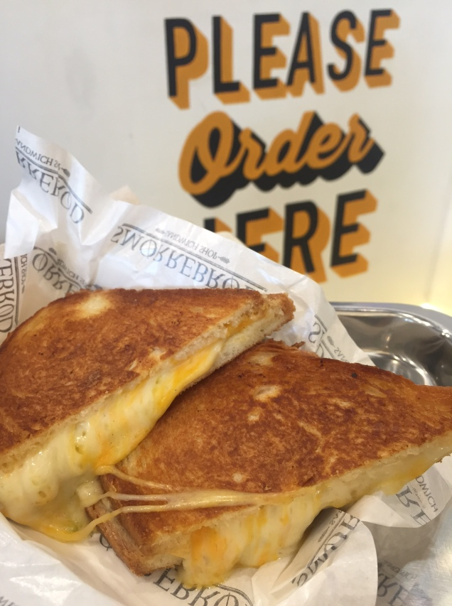 the best grilled cheese sandwich that I had.
